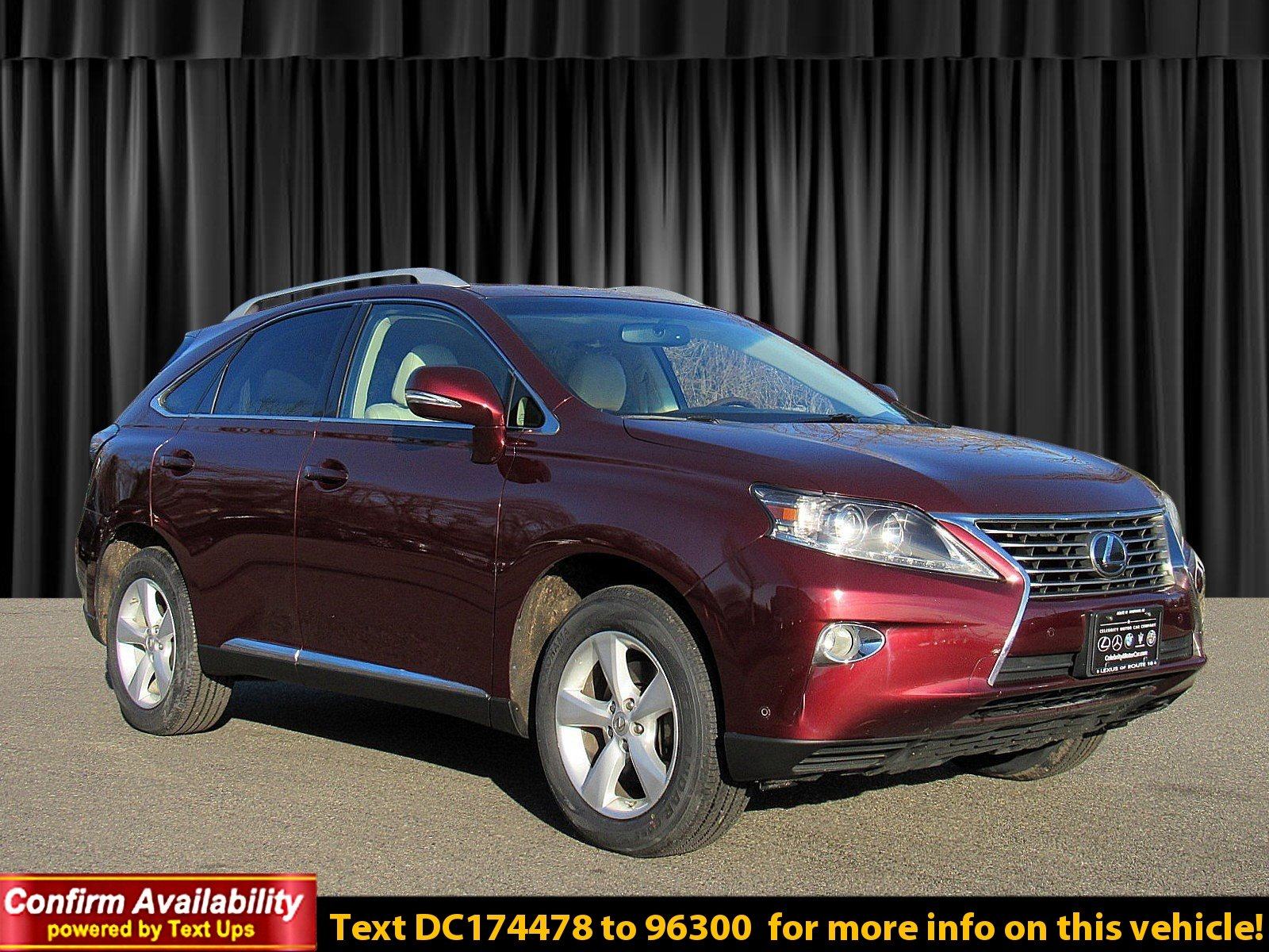 Certified Pre-Owned 2013 Lexus RX 350
