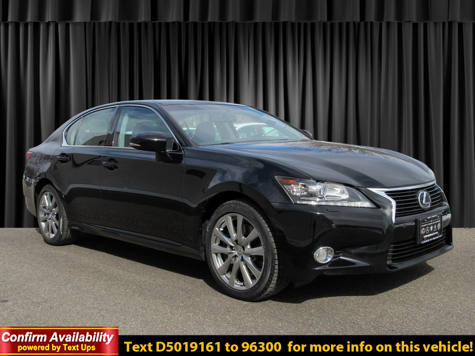 Certified Pre-Owned 2013 Lexus GS 350 350