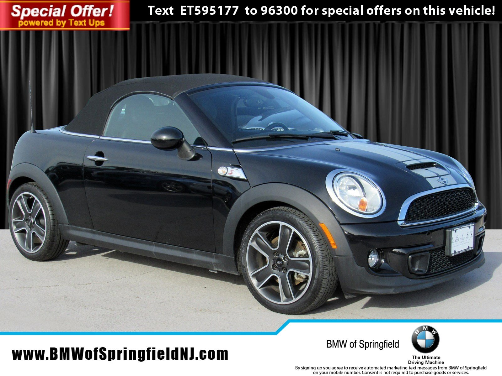 Pre-Owned 2014 MINI Cooper Roadster S