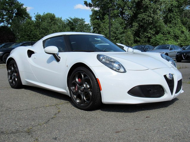 New 2017 Alfa Romeo 4C Coupe