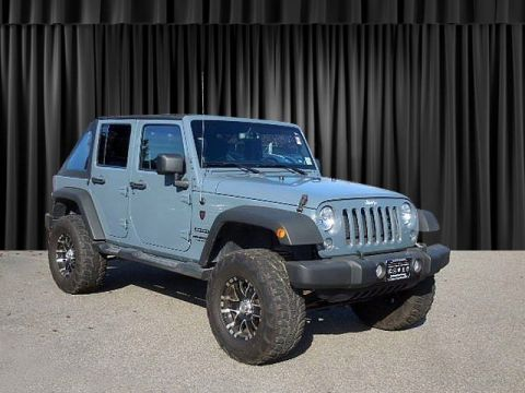 Pre-Owned 2014 Jeep Wrangler Unlimited Sport Four Wheel Drive Convertible