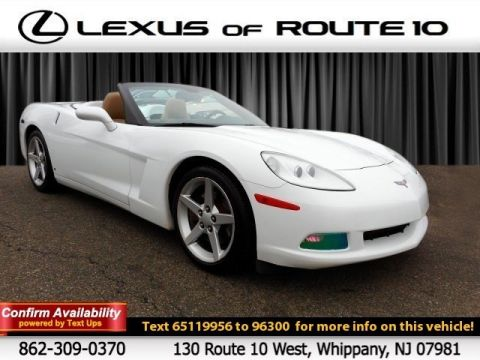 Pre-Owned 2006 Chevrolet Corvette RWD Convertible