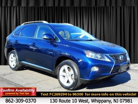 Certified Pre-Owned 2015 Lexus RX 350 With Navigation & AWD