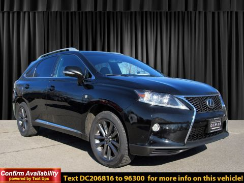 Pre-Owned 2013 Lexus RX 350 F Sport