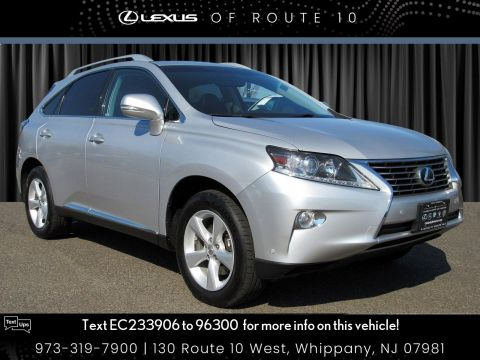 Certified Pre-Owned 2014 Lexus RX 350 350
