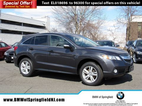 Pre-Owned 2014 Acura RDX Tech Pkg With Navigation & AWD