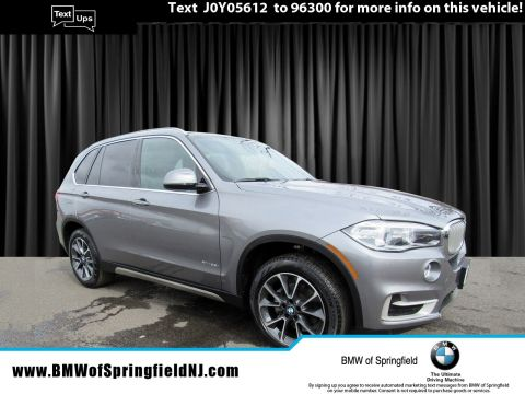 New 2018 BMW X5 xDrive35i