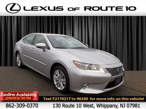 Certified Pre-Owned 2015 Lexus ES 350 350 FWD 4dr Car