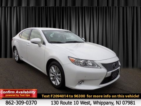 Certified Pre-Owned 2015 Lexus ES 300h Hybrid FWD 4dr Car