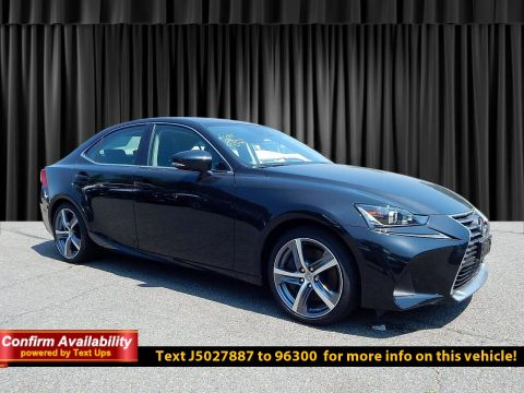 New 2018 Lexus IS IS 300