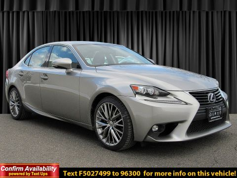 Certified Pre-Owned 2015 Lexus IS 250 250