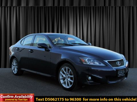 Certified Pre-Owned 2013 Lexus IS 250 250