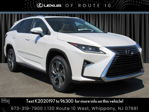 New 2019 Lexus RX RX 350L Luxury