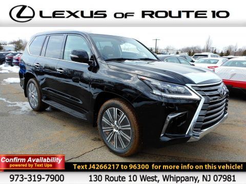 New 2018 Lexus LX LX 570 With Navigation & 4WD