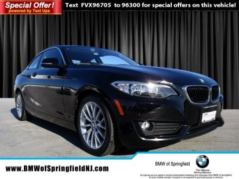 Certified Pre-Owned 2015 BMW 2 Series 228i xDrive AWD