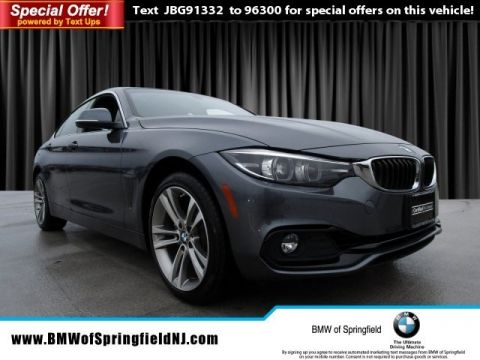 Certified Pre-Owned 2018 BMW 4 Series 430i xDrive With Navigation & AWD