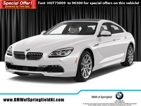 New 2017 BMW 6 Series 640i xDrive With Navigation & AWD