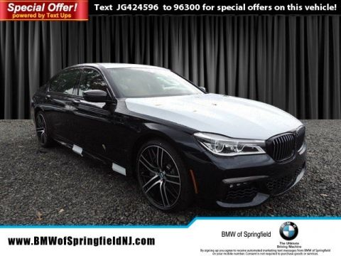 New 2018 BMW 7 Series 750i xDrive With Navigation & AWD