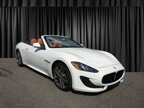 Pre-Owned 2016 Maserati GranTurismo Convertible Sport With Navigation